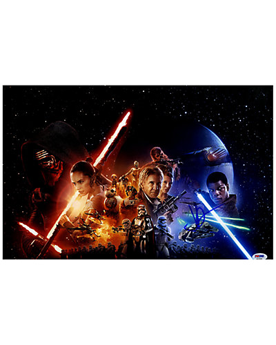 J.J. Abrams Signed Star Wars: The Force Awakens Photo by Steiner Sports