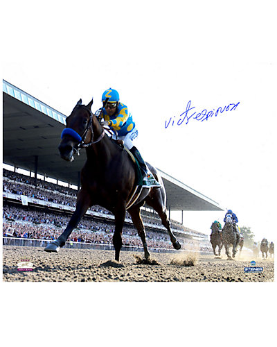 Signed Victor Espinoza & American Pharoah Photo