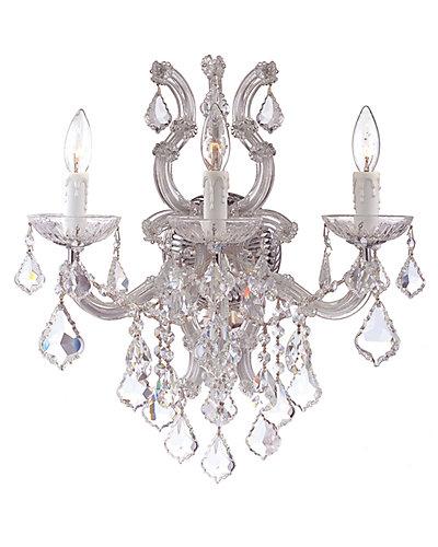 Maria Theresa 3-Light Wall Sconce with Swarovski Crystals