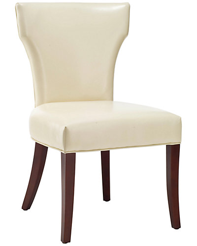 Set of 2 Leather Ryan Dining Chairs