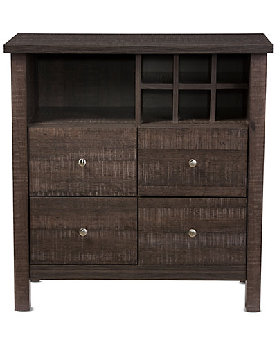 Dakota Wine Bar Cabinet
