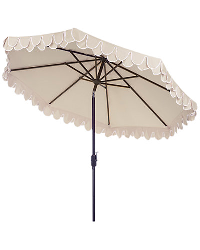 Elegant Valance 9ft Umbrella