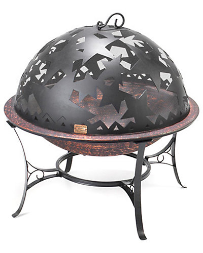 Small Starry Night Fire Dome