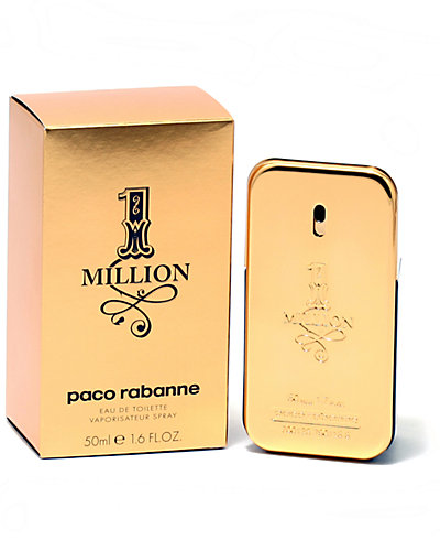 """Paco Rabanne """"One Million"""" 1.6oz Eau de Toilette"""