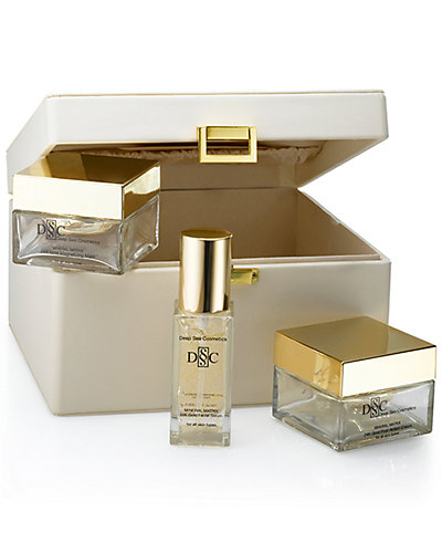 Deep Sea Cosmetics 3pc Mineral Matrix 24K Gold Treatment Set