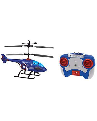 World Tech Toys Marvel Licensed Captain America Herocopter 2CH IR RC Helicopter