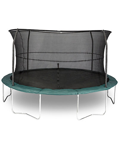 Bazoongi Orbounder Trampoline and Enclosure