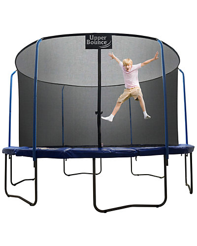 Upper Bounce SKYTRIC 11ft Trampoline with Top Ring Enclosure System
