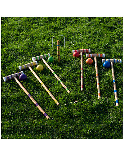 Complete Croquet Set with Carrying Case