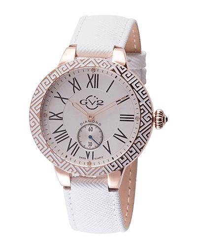 GV2 by Gevril Women's Astor Enamel Diamond Watch