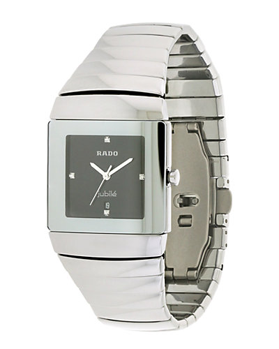 Rado Men's Stainless Steel Diamond Watch