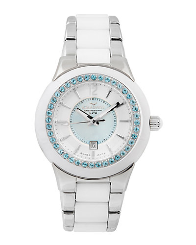 Aquaswiss Women's Sea Star Blue Topaz Watch