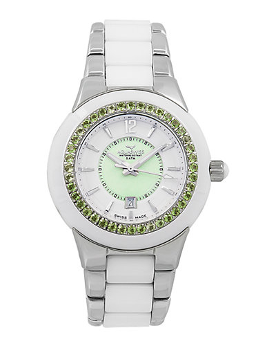 Aquaswiss Women's Sea Star Peridot Watch