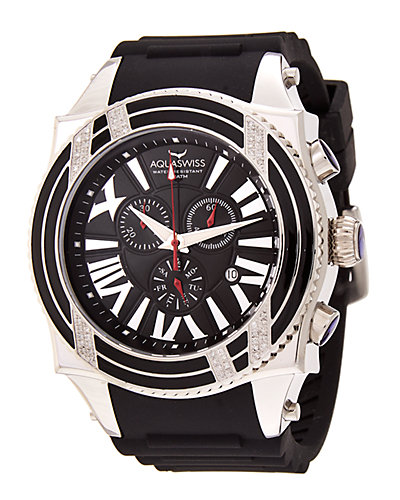 Aquaswiss Men's Swissport XG Diamond D Watch