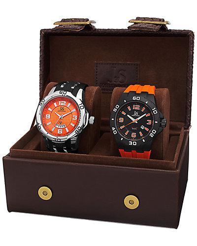 Joshua & Sons Men's Set of 2 Watches