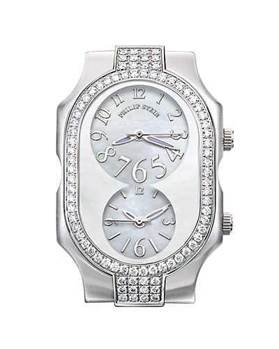 Philip Stein Signature Diamond Watch Case - Large