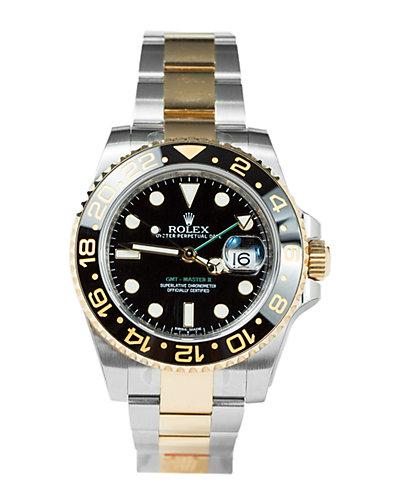 Rolex Men's GMT Master II Watch