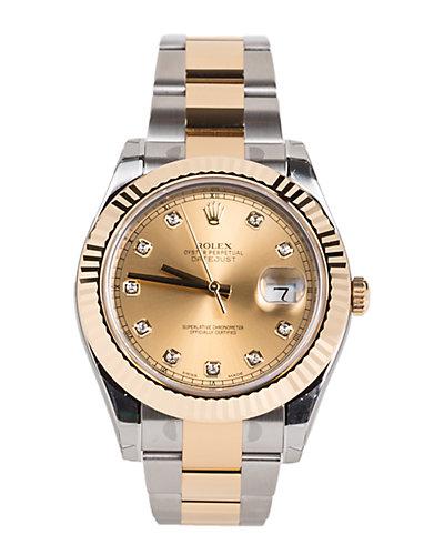 Rolex Men's Datejust II Diamond Watch