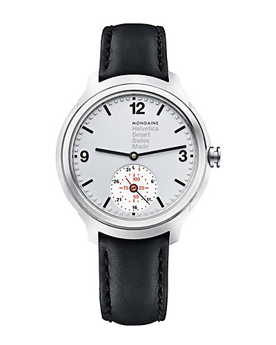Mondaine Helvetica Leather Smartwatch