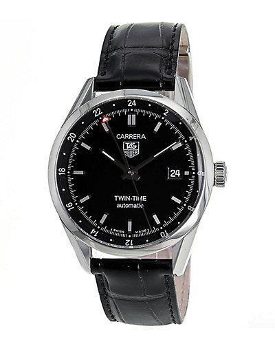 TAG Heuer Men's Carrera Twin Time Watch