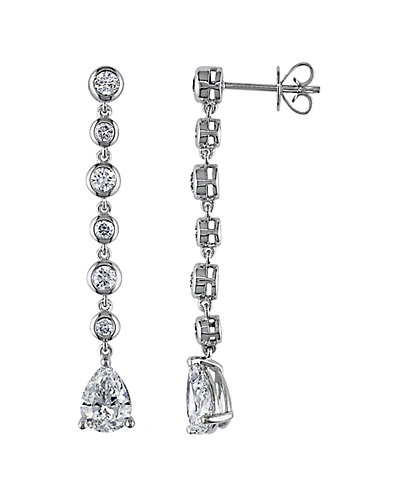 14K 2.76 ct. tw. Diamond Drop Earrings