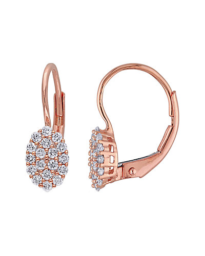 14K Rose Gold 0.30 ct. tw. Diamond Earrings