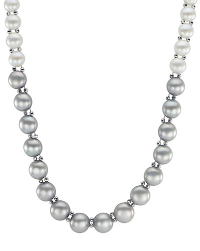 14K 4.5-9mm Freshwater Pearl Necklace