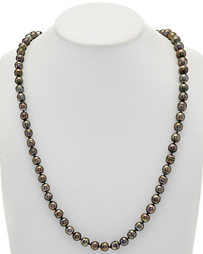 TARA Pearls 9-11mm Tahitian Pearl 33in Endless Necklace