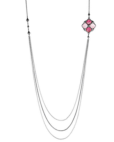 TACORI City Light 18K & Silver 31.02 ct. tw. Quartz Doublet 38in Necklace