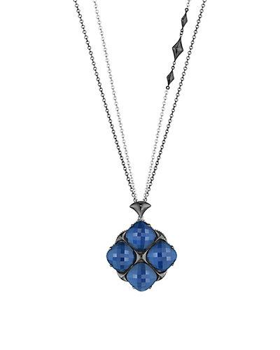 TACORI City Light 18K & Silver 54.40 ct. tw. Quartz Doublet 38in Necklace