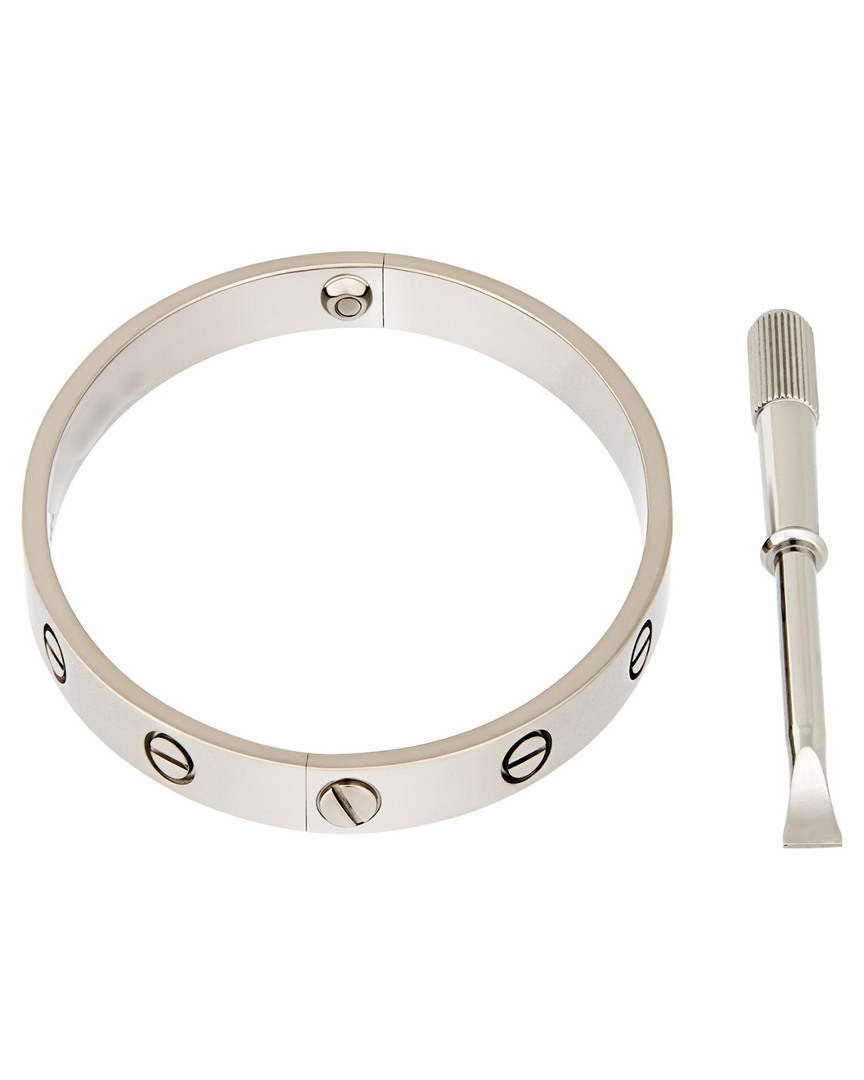 Cartier CARTIER 18K WHITE GOLD LOVE BRACELET