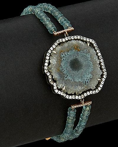 Meira T 14K Rose Gold & Silver 19.47 ct. tw. Diamond & Gemstone Bracelet