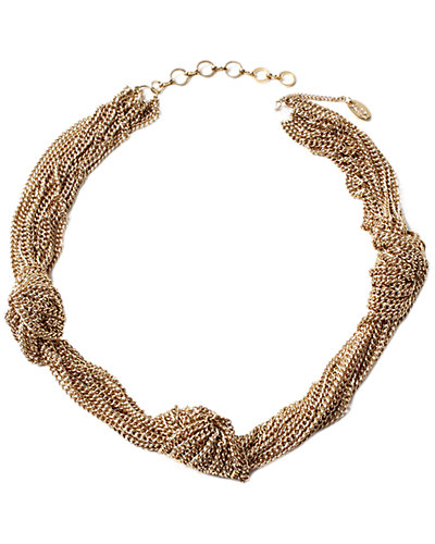 Amrita Singh Knotted Chain Necklace