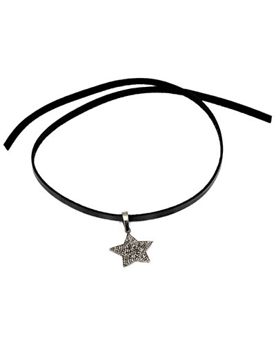 Jewels by Lori Kassin Silver 1.14 ct. tw. Champagne Diamond Choker Necklace