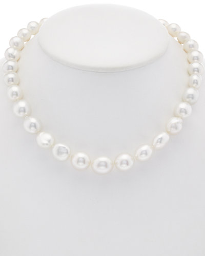 TARA Pearls 18K 0.15 ct. tw. Diamond & 10.1-15.1mm South Sea Baroque Cultured Pearl Necklace