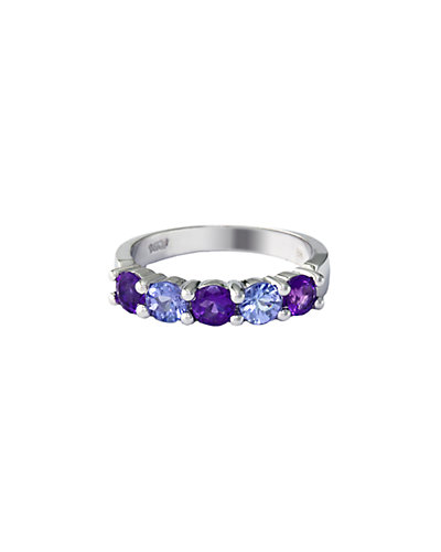 Effy Fine Jewelry 14K 1.22 ct. tw. Amethyst & Tanzanite Ring