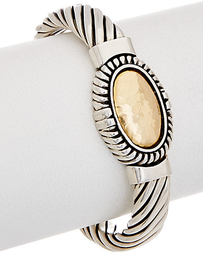 Phillip Gavriel 18K Gold & Silver Bangle