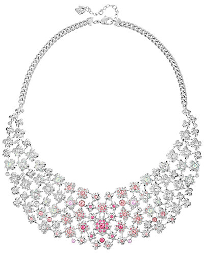 Swarovski Crystal Charie Plated Necklace