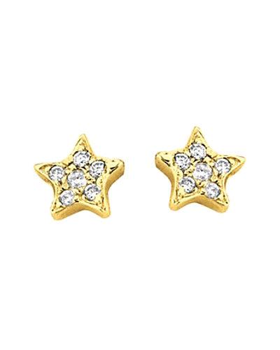 Ariana Rabbani 14K Diamond Studs