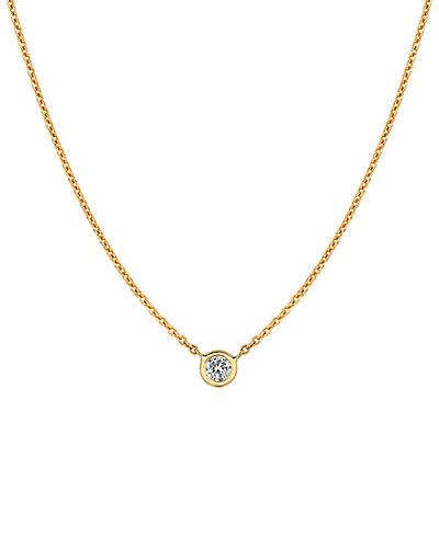 Ariana Rabbani 14K 0.15 ct. tw. Diamond Solitaire Necklace