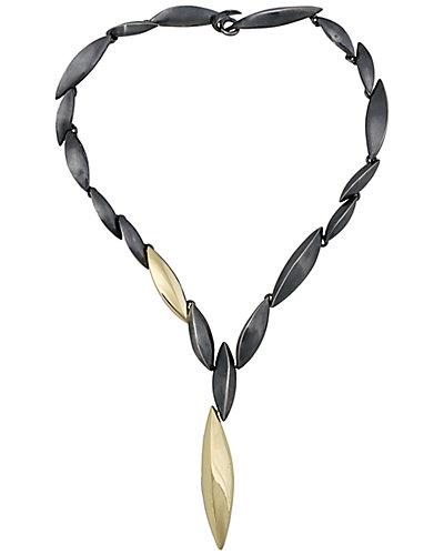 Alexis Bittar Marquis 18K & Silver Necklace