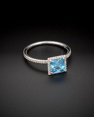 Meira T 14K 1.43 ct. tw. Diamond & Topaz Ring