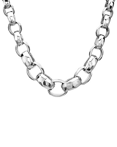 IPPOLITA Glamazon Silver Toggle Link Necklace