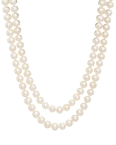 14K 7-7.5mm Freshwater Pearl 36in Necklace