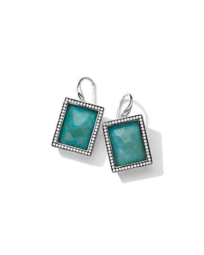 IPPOLITA Lollipop Silver 26.04 ct. tw. Diamond & Gemstone Drop Earrings