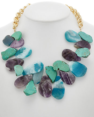 Devon Leigh Gemstone Necklace