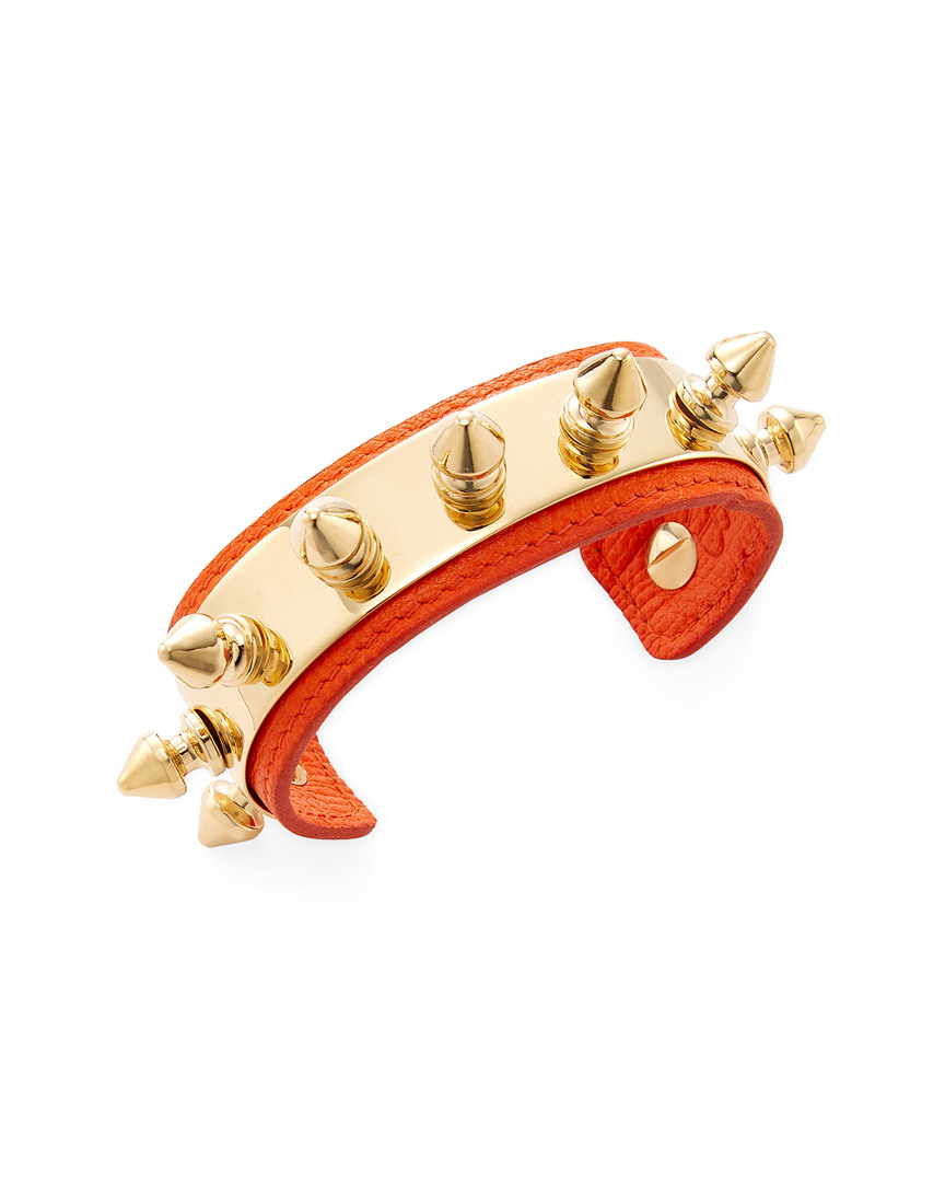 Aurelie Bidermann CAMDEN LEATHER CUFF