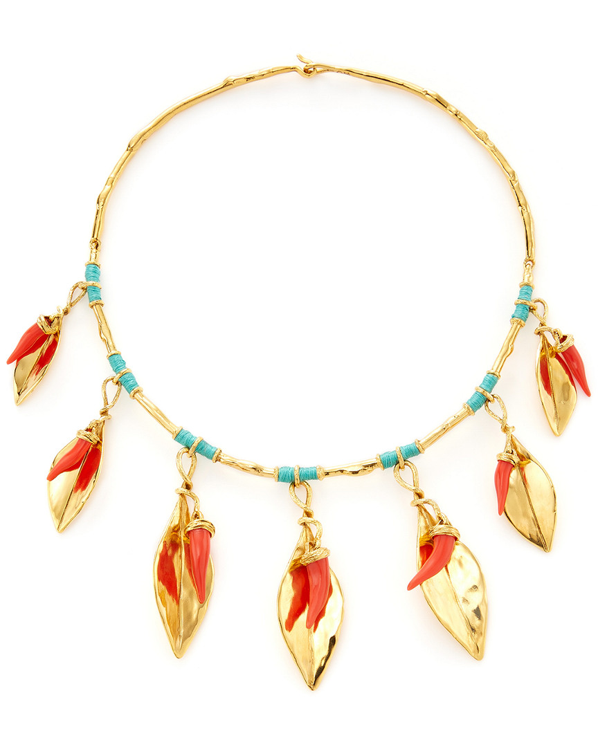 Aurelie Bidermann MONTEROSSO COLLAR NECKLACE