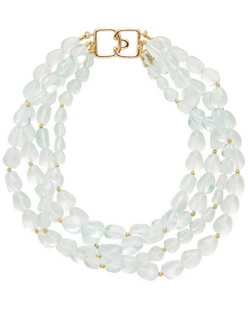 Kenneth Jay Lane BEADED COLLAR NECKLACE