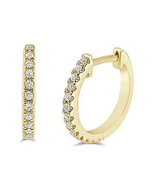 Sabrina Designs 14K 0.10 ct. tw. Diamond Huggie Earrings as seen on the Rachel Ray Show deals